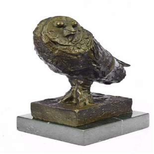 Modern Art Owl Bronze Sculpture