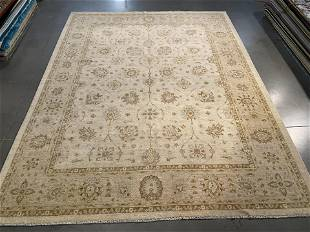 FINE 9x12 SUPER ZIGHLER HAND KNOTTED RUG