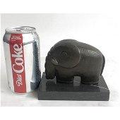 Space Elephant Bronze Sculpture