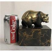 Panda Animal Edition Bronze Sculpture