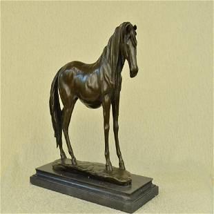 Arabian Horse Racing Bronze Sculpture