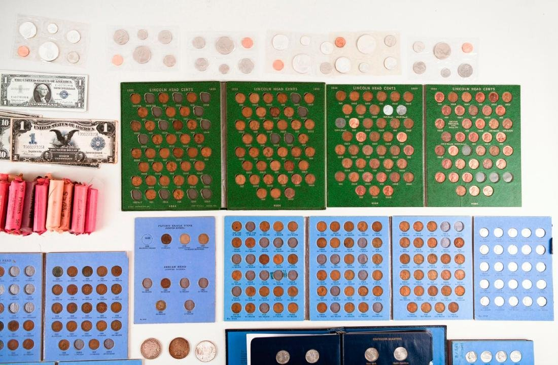 Large Lot of Coins and Currency - 3