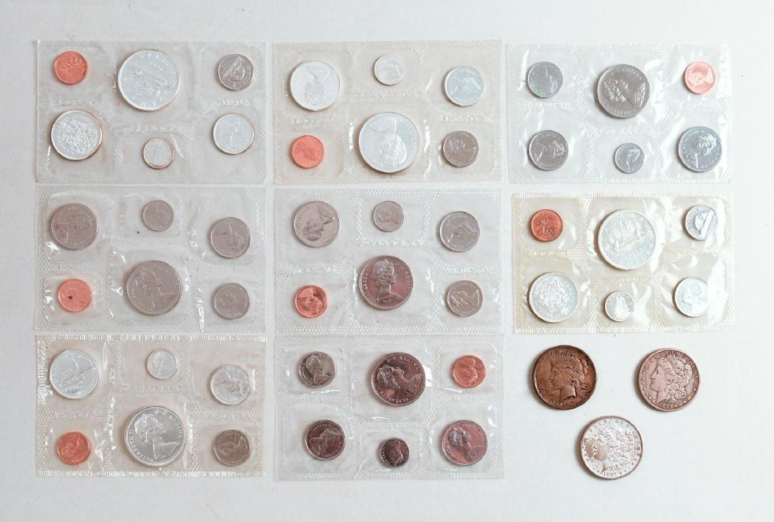 Large Lot of Coins and Currency - 4