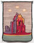 Navajo Pictorial Weaving  Shiprock