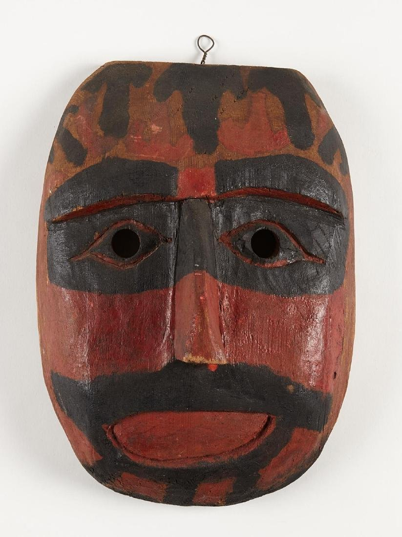 Northwest Coast Indian Mask