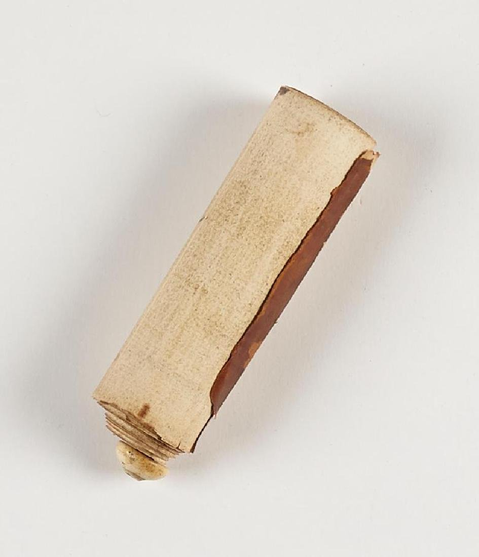 Early Middle Eastern Prayer Scroll - 2