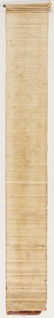 Early Middle Eastern Prayer Scroll - 3