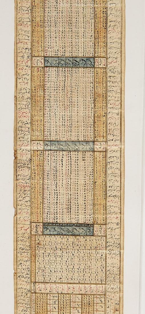 Early Middle Eastern Prayer Scroll - 6