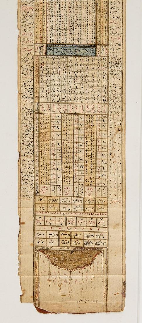 Early Middle Eastern Prayer Scroll - 7