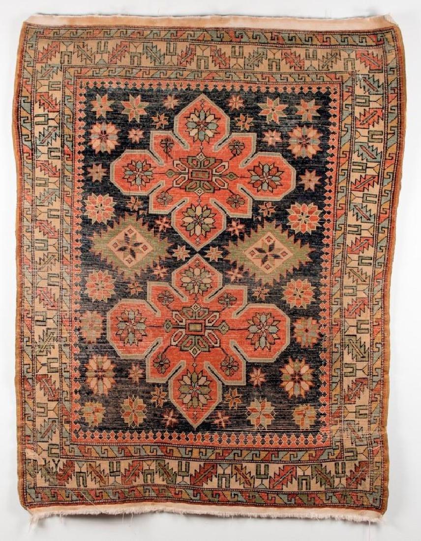 Shirvan Caucasian Oriental Carpet - 2