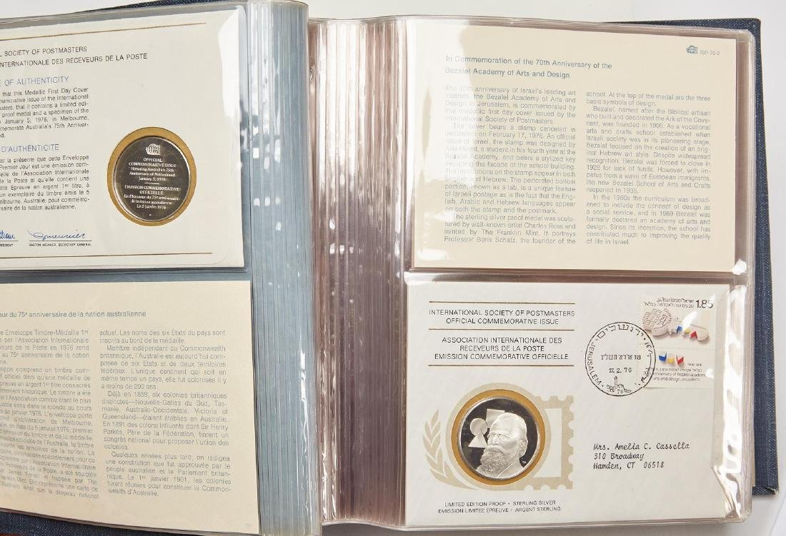 International Postmasters Commemorative  35 ozt total