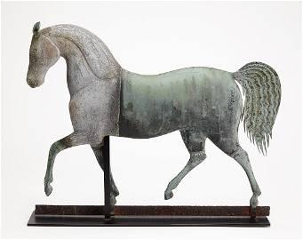 Exceptional J. Howard Horse Weathervane