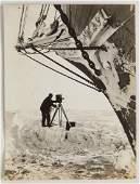 Frank Hurley-Taking a Cinema - Shackleton