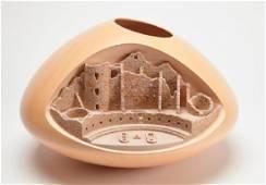 Al Qoyawayma- Architectural Pottery Jar