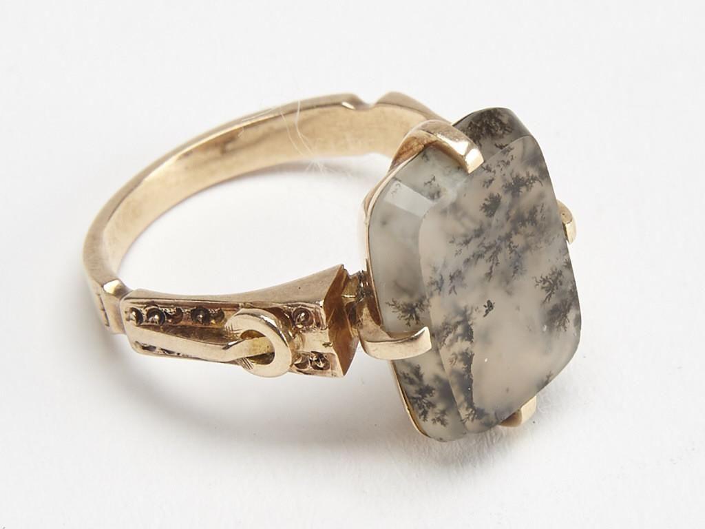 Fine 14K Victorian Ladies Ring