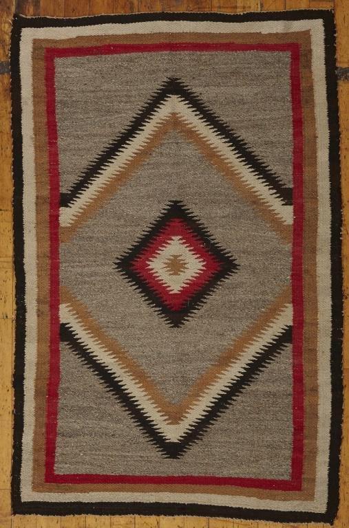Two Vintage Navajo Regional Rugs