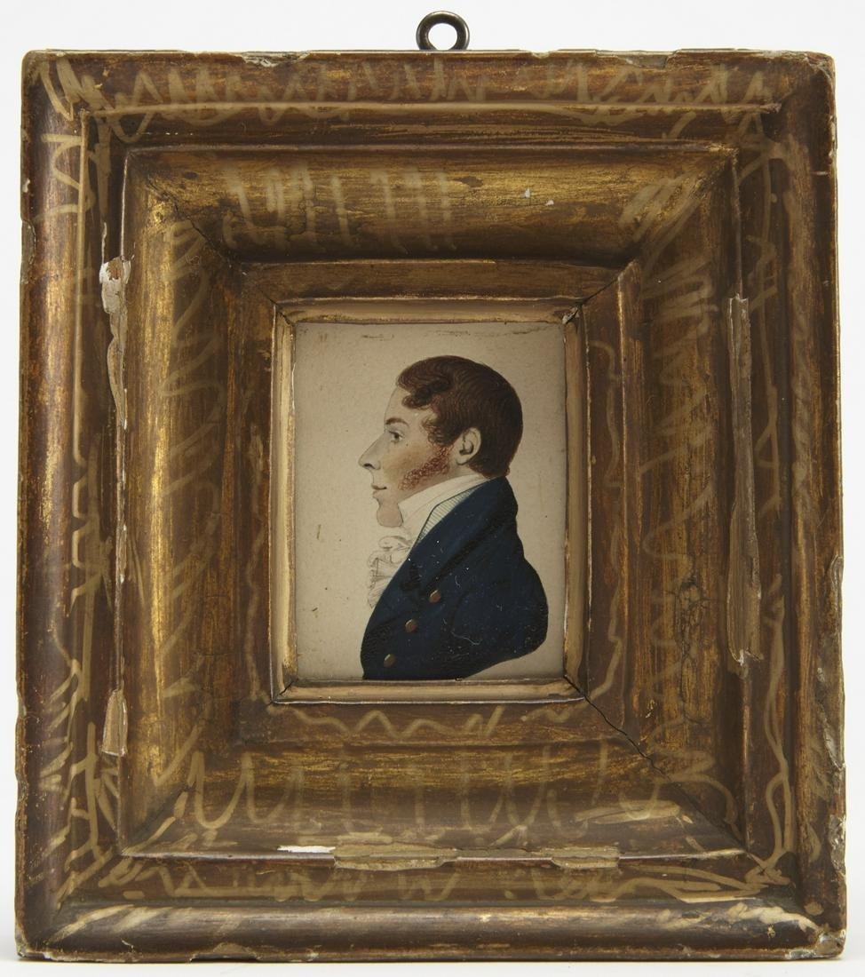 Two Miniature Portraits, Gillespie