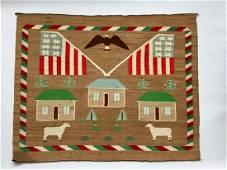Very Fine Navajo Pictorial Weaving