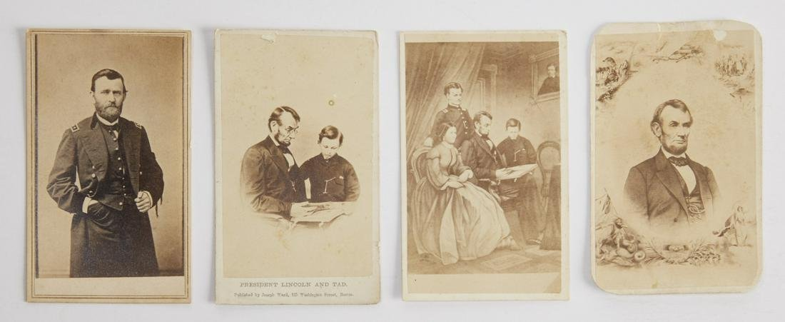 Grant and Lincoln Carte de Visites