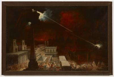 John Martin (1789-1854) Apocalyptic Painting