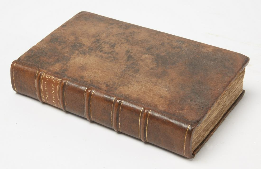 Rare Book - Household Dictionary 1736