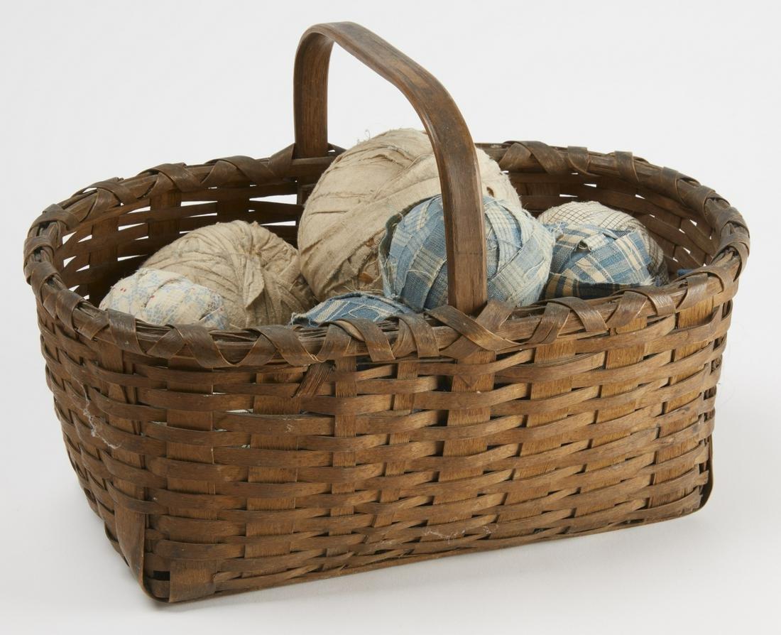 Early Splint Basket with 15 Rag Balls