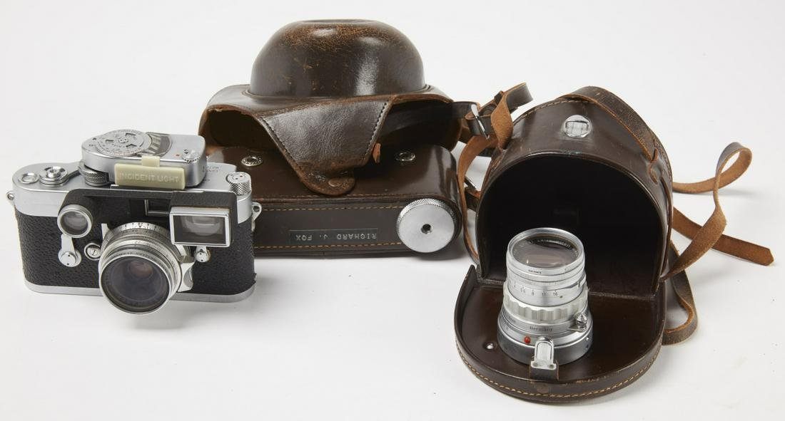 VINTAGE Leica Camera with extra Lens