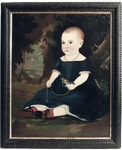 Portrait of a Child - William Matthew Prior