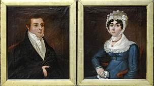 Pair of Portraits - 1826