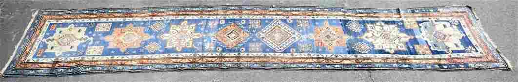 Good Antique Caucasian Oriental Carpet