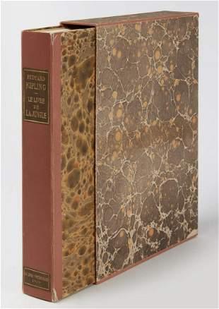 Rare Book - Rudyard KIPLING Le Livre de La Jungle