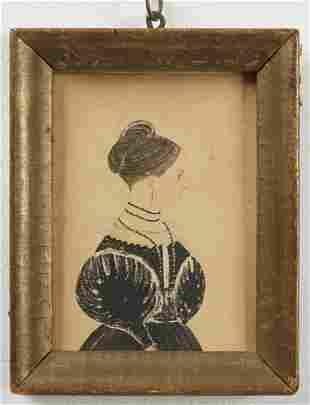 Miniature Portrait of a Lady