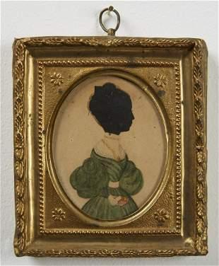 Miniature Portrait Red Book Artist