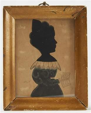 Miniature portrait of a Lady in a Blue Dress