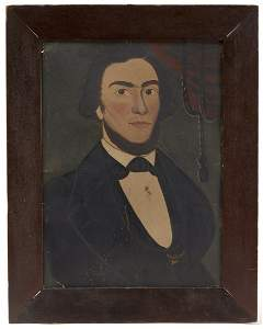 Fine Prior Portrait of a Man