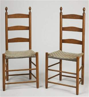 Pair of Shaker Chairs