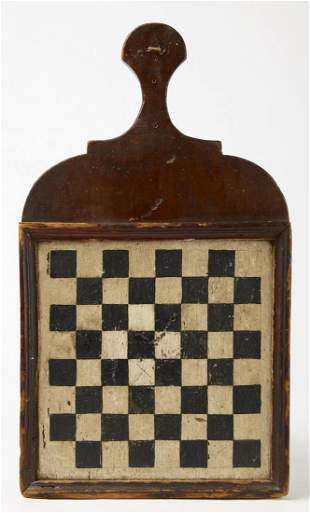 Rare Early Tavern Checkerboard