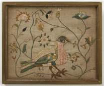1791 Needlework Picture