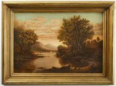 Fine Hudson River School Painting