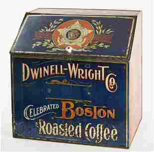 Large Boston Coffee Bin