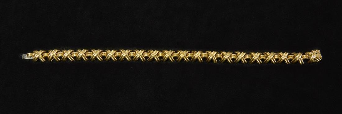 18K Gold Tiffany & Co X Bracelet