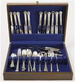 Towle Colonial Plume Sterling Flatware 46 ozt