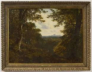 Edmund John Niemann - oil on canvas