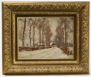 Frank Peyraud - Winter Scene