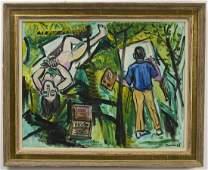 Ben Benn - Artist and His Model 1968
