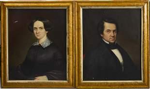 Pair of 19th Century Portraits