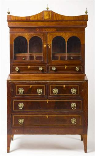 Sheraton Secretary Desk