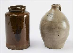 Connecticut Stoneware and Redware