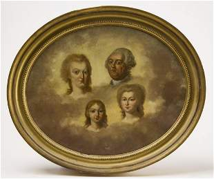 Memorial Portrait - Louis XVI with Family