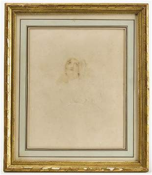 Early Lithograph & Watercolor - old Paris Label